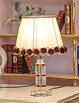 cheap -Artistic Matte Crystal Table Lamp For Crystal 220-240V Light Brown