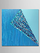 cheap -Hand-Painted Abstract Square, Simple Modern Canvas Oil Painting Home Decoration One Panel