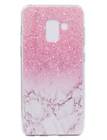 cheap -Case For Samsung Galaxy A8 Plus 2018 A8 2018 Transparent Pattern Back Cover Marble Soft TPU for A3(2017) A5(2017) A7(2017) Galaxy A8 2018