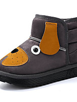cheap -Girls' Shoes Nubuck leather Winter Fall Comfort Snow Boots Boots Booties/Ankle Boots for Casual Pink Yellow Gray Black