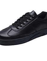 cheap -Men's Shoes PU Spring Fall Light Soles Sneakers for Casual White Black Red