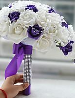 """Недорогие -Свадебные цветы Букетик на запястье Свадьба Шёлковая ткань рипсового переплетения 25 см 9,84""""(около 25см)"""