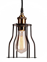 cheap -Vintage Country Mini Style Pendant Light Ambient Light For Kitchen Shops/Cafes 220-240V 110-120V Bulb Not Included