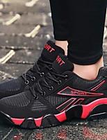preiswerte -Herrn Schuhe Tüll Frühling Sommer Komfort Sneakers für Draussen Schwarz/Rot Schwarz / blau Schwarz/Gelb