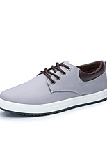 cheap -Men's Shoes Canvas Spring Fall Comfort Sneakers for Casual Outdoor Blue Gray Black