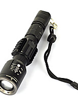 cheap -ANOWL LS1250 LED Light - 600 lm 3 Mode LED Portable Easy Carrying Camping/Hiking/Caving Everyday Use Cycling/Bike Hunting Fishing Black