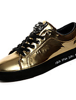 cheap -Men's Shoes PU Spring Fall Comfort Sneakers for Casual Gold Black Silver Blue