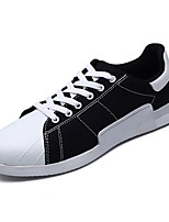 cheap -Men's Shoes Canvas Spring Fall Comfort Sneakers for Casual Black Beige