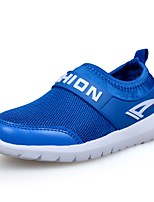 cheap -Boys' Shoes Tulle Leatherette Spring Fall Comfort Athletic Shoes Running Shoes for Athletic Casual Royal Blue Dark Blue White