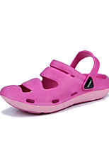 Недорогие -Обувь Этиленвинилацетат Лето Удобная обувь Тапочки и Шлепанцы Плоские для Повседневные Серый Лиловый Пурпурный Зеленый
