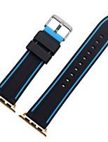 abordables -Ver Banda para Apple Watch Series 3 / 2 / 1 Apple Correa de Muñeca Correa Deportiva Silicona