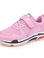 cheap -Girls' Shoes Leatherette Spring Fall Comfort Sneakers for Casual Pink Red Black