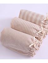 cheap -Girls' Polka Dot Striped All Seasons Underwear, Cotton Micro-elastic Light Brown