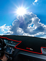cheap -Automotive Dashboard Mat Car Interior Mats For Kia 2015 2016 2011 2012 2013 2014 K2