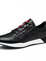 cheap -Men's Shoes PU Winter Comfort Sneakers for Casual Black Blue