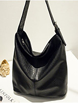 cheap -Women Bags PU Shoulder Bag Pockets Zipper for Casual All Season Brown Black