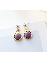 cheap -Women's Stud Earrings Rhinestone Fashion Sweet Imitation Pearl Alloy Circle Jewelry Party Daily Costume Jewelry