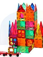 preiswerte -Magnetische Bauklötze Spielzeuge Architektur Transformierbar Weicher Kunststoff 60 Stücke