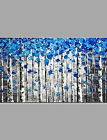 cheap -Hand-Painted Abstract Landscape Horizontal, Classic Modern Canvas Oil Painting Home Decoration One Panel