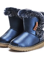 cheap -Girls' Shoes Leatherette Winter Snow Boots Comfort Boots Feather Tassel for Outdoor Dress Dark Blue