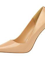 Недорогие -Жен. Обувь Лакированная кожа Весна Осень Гладиаторы Туфли лодочки Обувь на каблуках На шпильке Заостренный носок для Для праздника Для