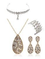 cheap -Women's Bridal Jewelry Sets forehead jewelry Rhinestone Fashion European Wedding Party Imitation Diamond Alloy Drop Body Jewelry 1