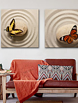 economico -Stampa trasferimenti su tela Rustico Modern,Due Pannelli Tela Stampa Decorazioni da parete Decorazioni per la casa