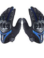 cheap -su0my su-10 motorcycle gloves wateproof anti-slip full finger nylon material