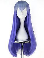 abordables -Perruques de lolita Lolita Bleu Princesse Perruque Lolita  76 CM Perruques de Cosplay Halloween Perruque Pour