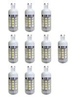cheap -10pcs 4.5W 380 lm G9 36 leds SMD 5050 LED Light Warm White AC 220-240V