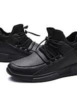 economico -Per uomo Scarpe PU (Poliuretano) Inverno Comoda Sneakers per Casual Nero