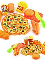 Недорогие -Игрушечная еда и всё для кухни Игрушки Круглый Еда и напитки Взаимодействие родителей и детей утонченный Мягкие пластиковые 1 Куски