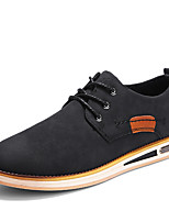 cheap -Men's Shoes Leatherette Spring Summer Formal Shoes Oxfords for Wedding Party & Evening Black Brown Dark Brown
