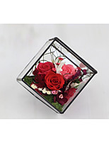 cheap -Wedding Party Favors & Gifts - Gifts Floral Dried Flower Glass Romance