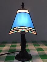Недорогие -Современный Хрусталь Настольная лампа Назначение Спальня Хрусталь Синий