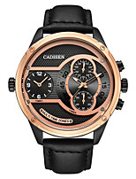 cheap -CADISEN Men's Wrist watch Sport Watch Casual Watch Chinese Quartz Calendar / date / day Chronograph Water Resistant / Water Proof Casual