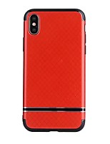 abordables -Coque Pour Apple iPhone X iPhone 8 Confortable Coque Couleur unie Flexible TPU pour iPhone X iPhone 8 Plus iPhone 8 iPhone 7 Plus iPhone