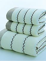 abordables -Style frais Serviette de bain, Mot / Phrase Qualité supérieure Polyester/Coton Etoffe jacquard Serviette