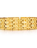 preiswerte -Herrn Ketten- & Glieder-Armbänder Metallisch Modisch vergoldet Schmuck Party Geschenk Modeschmuck