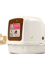 cheap -Cats Pet Package Pet Carrier Trainer Portable Professional Solid Square Beige