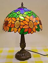 Недорогие -металлический Декоративная Настольная лампа Назначение Спальня Металл Оранжевый