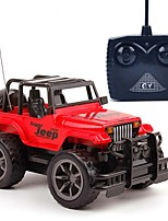 cheap -RC Car 4 Channel 2.4G Off Road Car 1:24 KM/H