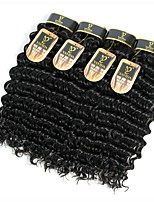 cheap -Peruvian Deep Wave Human Hair Weaves 4pcs 4 Pieces 0.4
