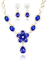cheap -Women's Jewelry Set 1 Necklace Earrings - Classic Fashion Blue Jewelry Set Bridal Jewelry Sets For Wedding Daily