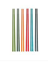 Недорогие -Органический пластик 6шт палочки для еды 38*38*33