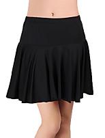 abordables -Danse latine Bas Femme Entraînement Polyester Combinaison Taille basse Jupes