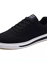 cheap -Men's Shoes Fabric Spring Fall Light Soles Sneakers for Casual Black Gray Black/White