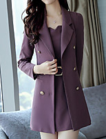 cheap -Women's Blazer Dress V Neck