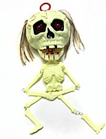 cheap -Halloween Props Toys Horror Skeleton / Skull 1 Pieces Adults' Masquerade Gift