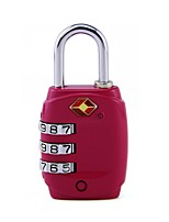 cheap -mechanical code lock travel abroad customs code lock luggage box three pin padlock tsa331